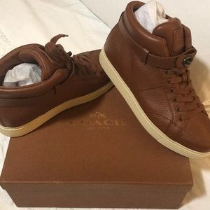 Brand New Coach Ryderson Pebble Leather Shoes